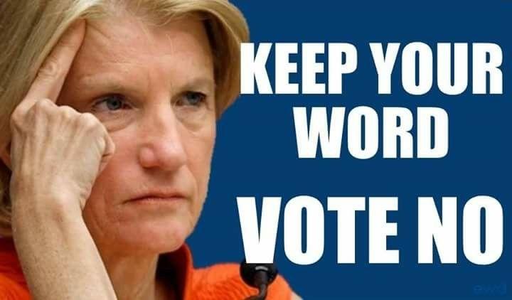 West Virginia Senator Shelley Moore Capito, vote no to TrumpCare