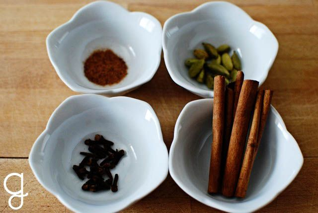 October Is For Chai. The smell and taste of Chai on a crisp October day is a little slice of heaven. Try this recipe to experience your own Fall bliss, from the GraceLaced Kitchen.