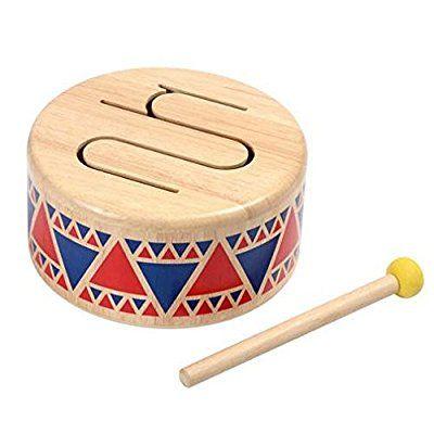 Plan Toys 640401 Trommel Musikinstrumente Fur Kleinkinder Musikspielzeug Spielzeug