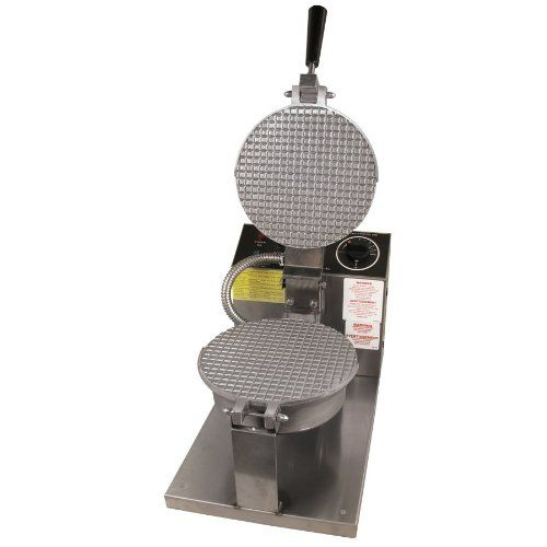 Gold Medal 5020 - Giant Waffle Cone Baker, 8 in Danish Grid, Push Button Controls, 120 V Gold Medal 5020 Giant Waffle Cone Baker w/ 8-in Danish Grid
