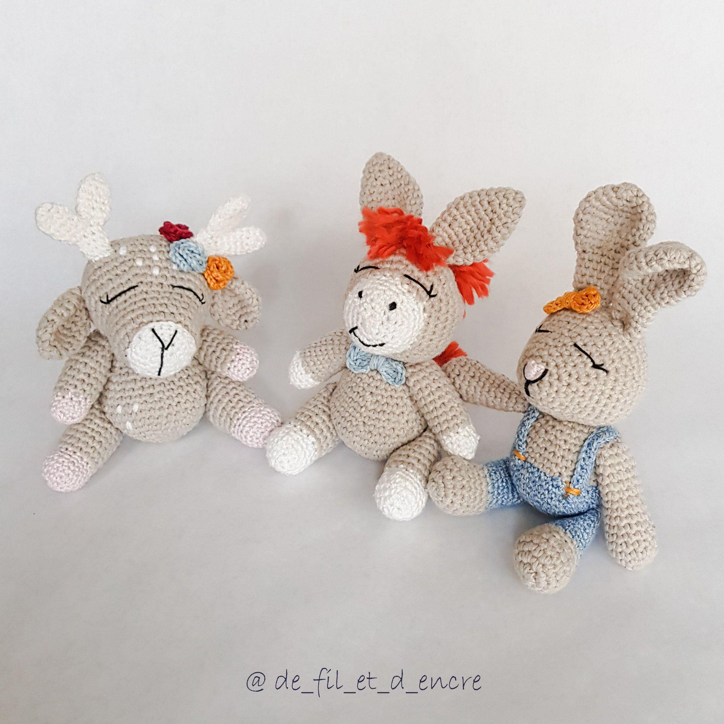 c0e86808ac77 modèle crochet amiguruimi bichette  amigurumi  patron  modèle  mignon  DIY   crochet
