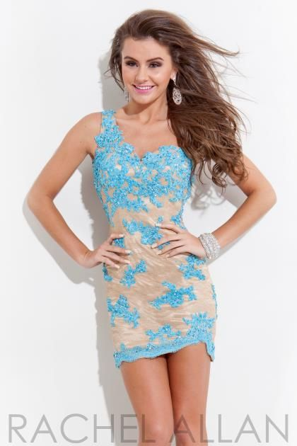 Rachel Allan Homecoming Dresses 6650 Prom Dress - PeachesBoutique.com