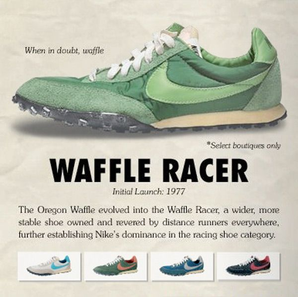 big sale 8b85c 7a455 Vintage Nike ad for running
