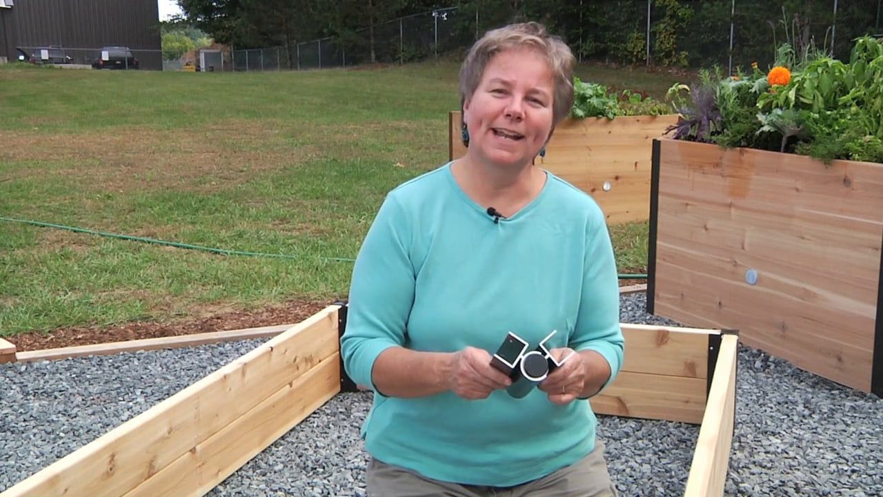 Pivoting Raised Bed Connectors Diy Raised Bed Made In Vermont