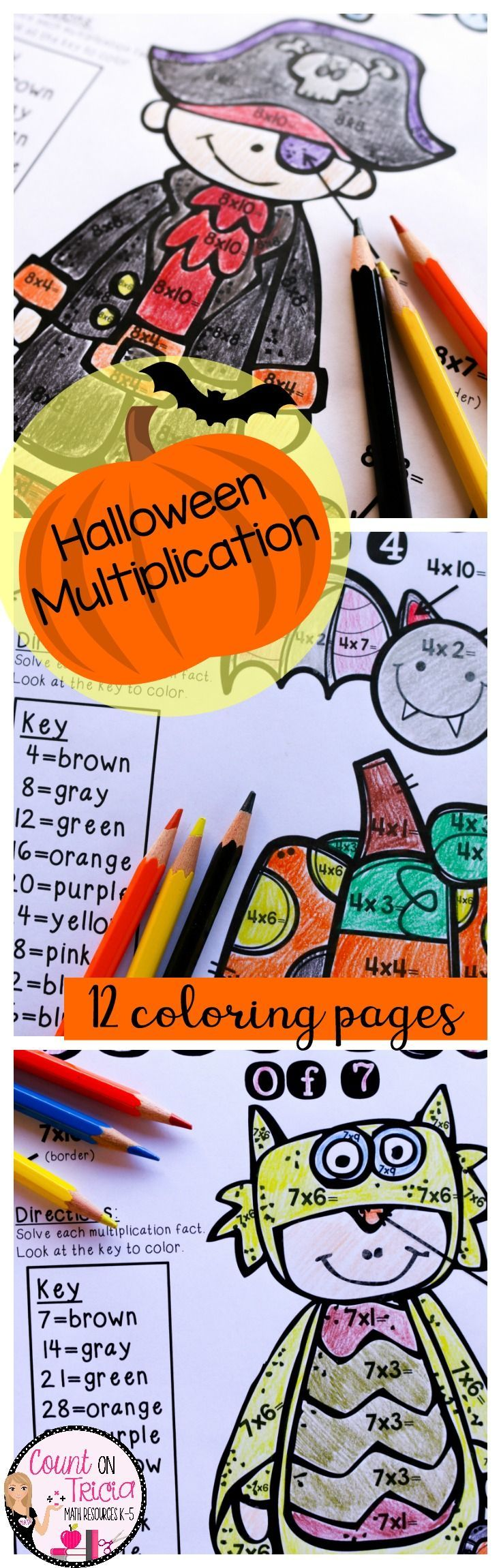Halloween Multiplication Resources - Great Fun for October ...