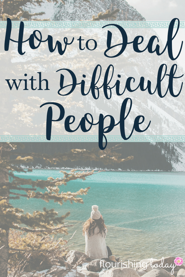 Dealing with difficult people is a part of life. How can we handle them with care? Here are a few tips for dealing with difficult people.
