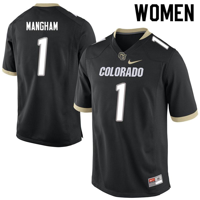 Women 1 Jaren Mangham Colorado Buffaloes College Football