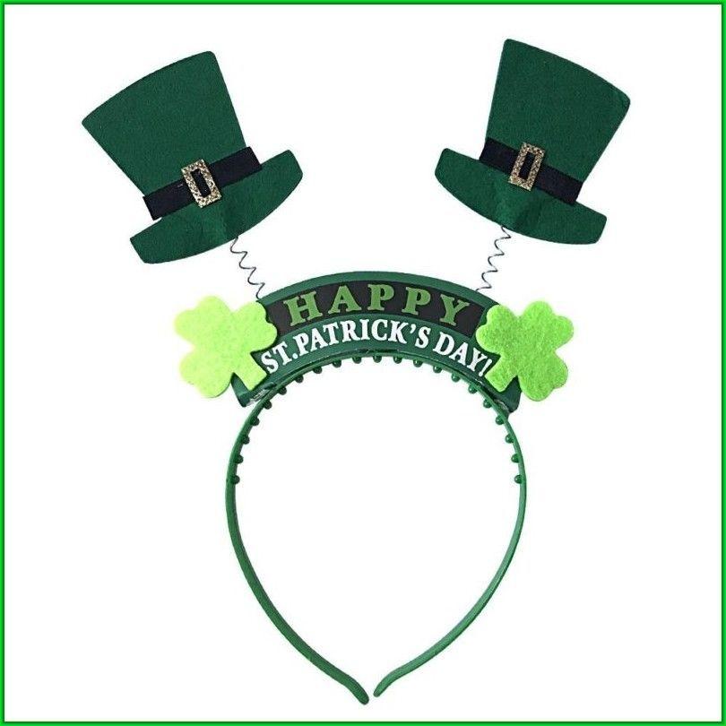 c07d0a492a7dc St Patrick Day Costume Accessories Boppers Leprechaun Hat and Shamrock  Headbands  irish  irishhat  hat  hats  fedora  saintpatricksday   stpatrickday ...