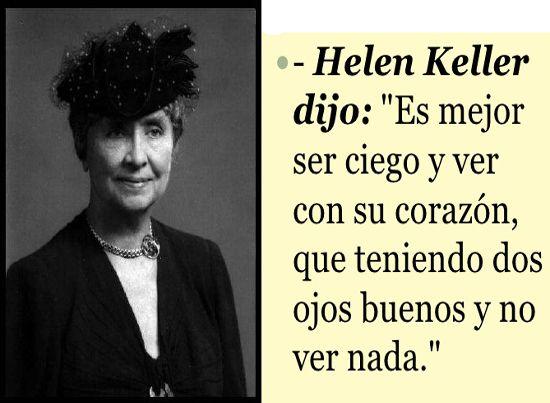 Resultado De Imagen Para Helen Keller Pensamientos Helen