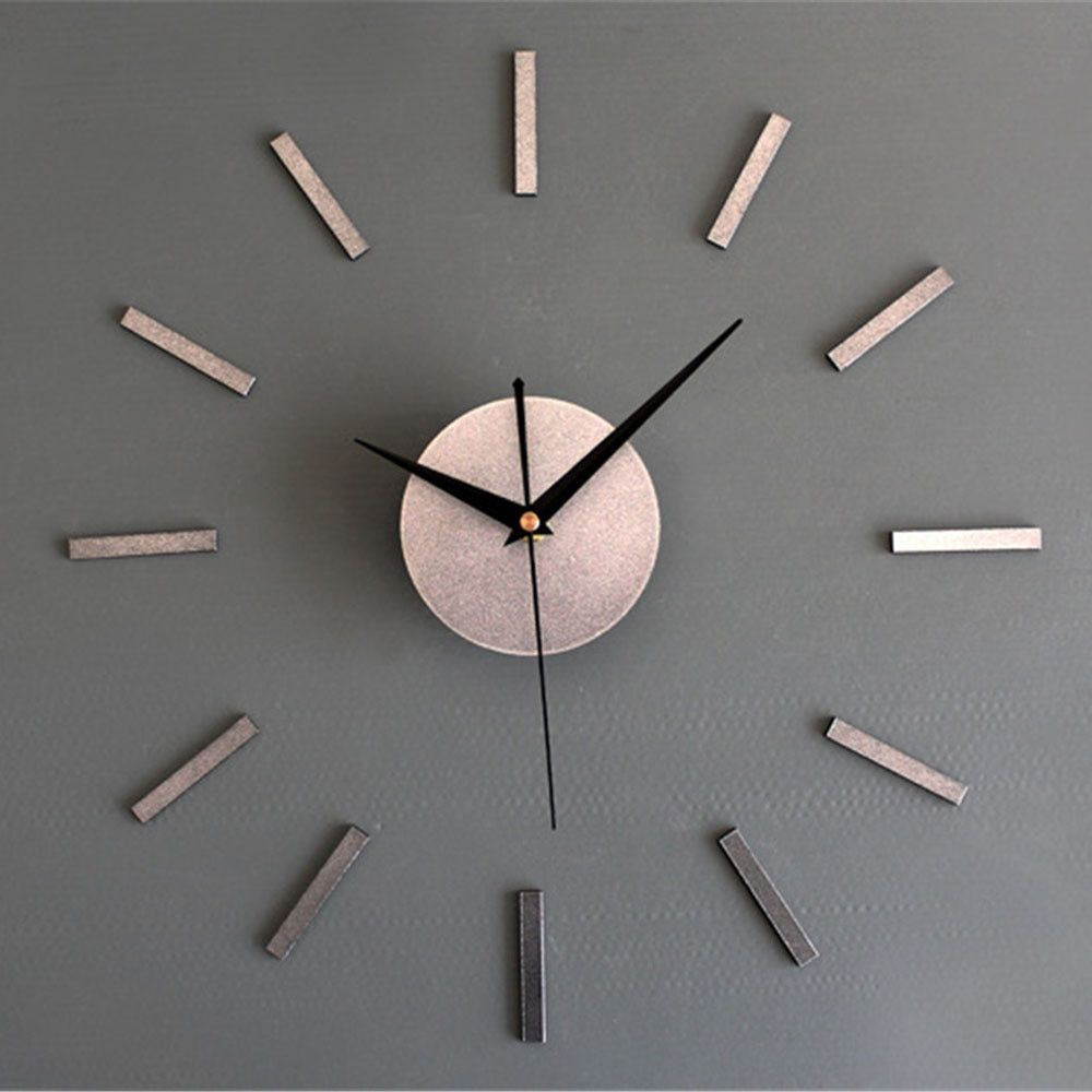 Modern Minimalist Wall Clock Fashion 3d Large Size Vogue Mirror Sticker Diy Needle Quartz Wall Clocks For Home Living Room Decor Minimalist Wall Clocks Diy Clock Wall Wall Clock Kits