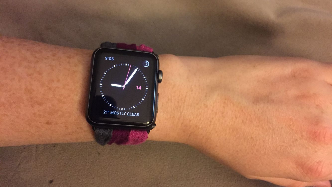 Easy homemade Apple Watch band (DIY 3 strips of stretchy