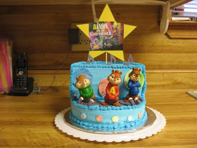 alvin and the chipmunks cake Bing Images Animation Cartoon