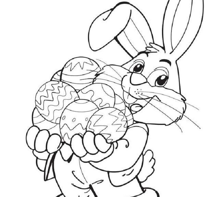 Easter coloring book by Fun Activity on Coloring Pages For
