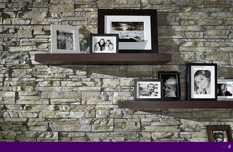 Floating Shelves above fireplace could replace standard mantle