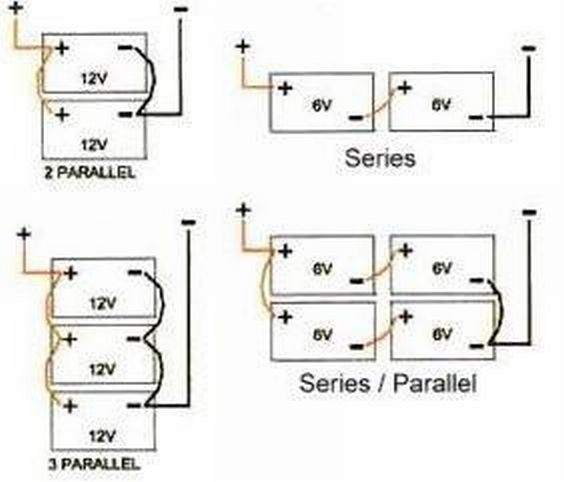 Image result for graphic of parallel battery wiring fix it image result for graphic of parallel battery wiring swarovskicordoba Image collections