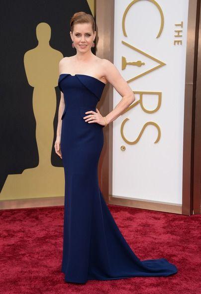 Oscars 2014 Amy Adams #oscars2014 #redcarpet