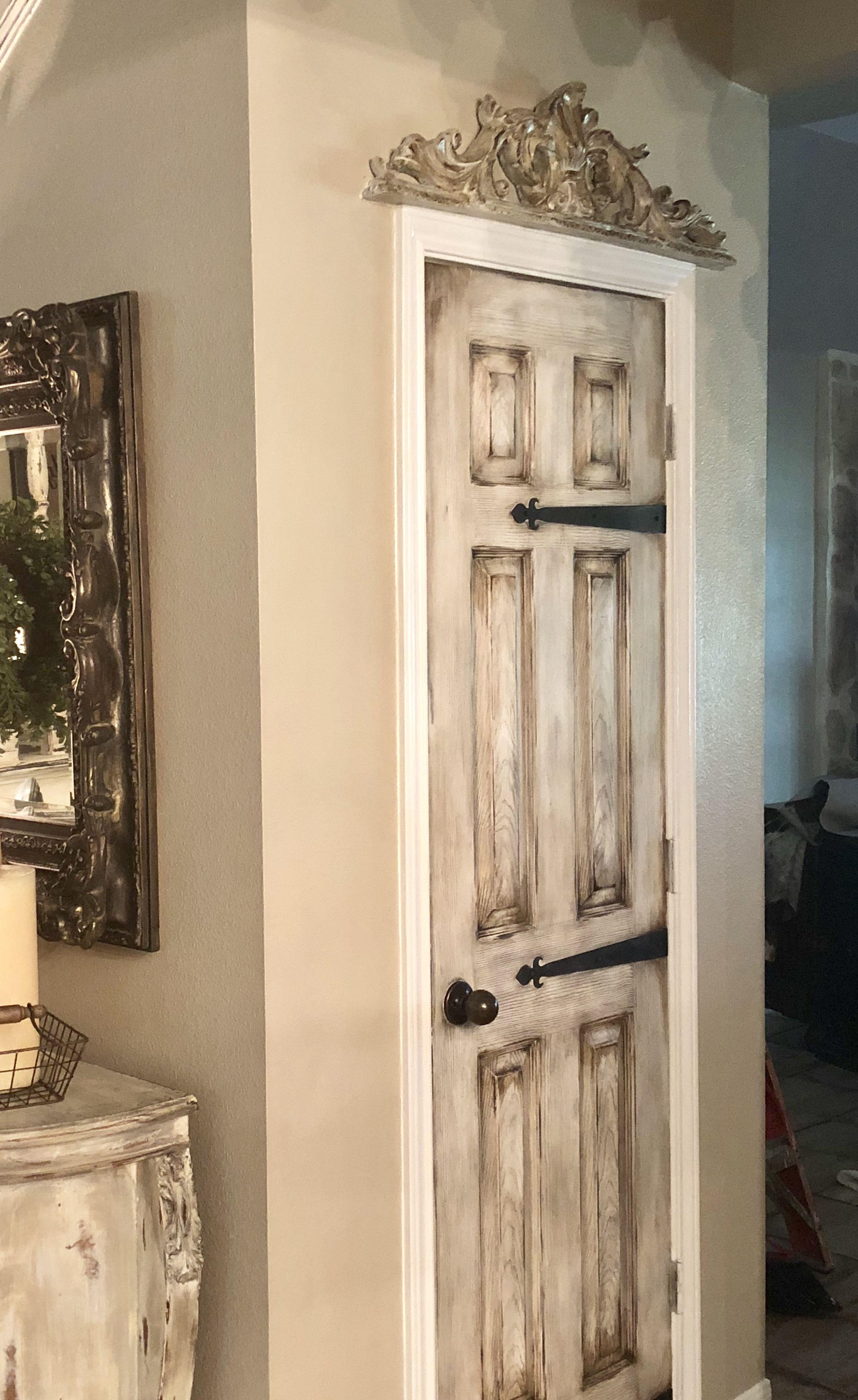 6 Panel Door Makeover Farmhouse Rustic Panel Doors Diy Wood Doors Interior Painted Interior Doors