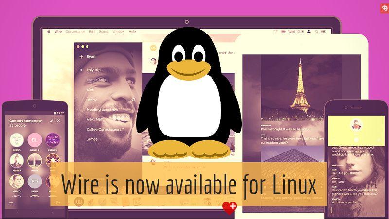 Wire Privacy Focused Open Source Slack Alternative for