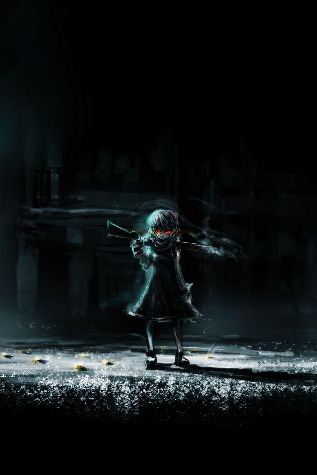 IPhone 4S, 4 Dark anime Wallpapers HD, Desktop Backgrounds