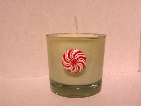 Peppermint Essential U Candle    Recycled Three by aunaturelle, $10.00
