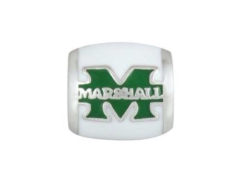 Euro Bead | Sterling Silver | Marshall University
