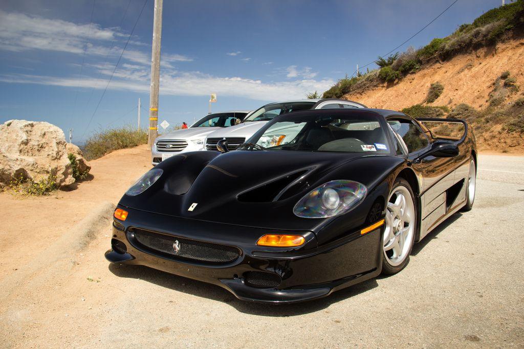 Ferrari F50 in black