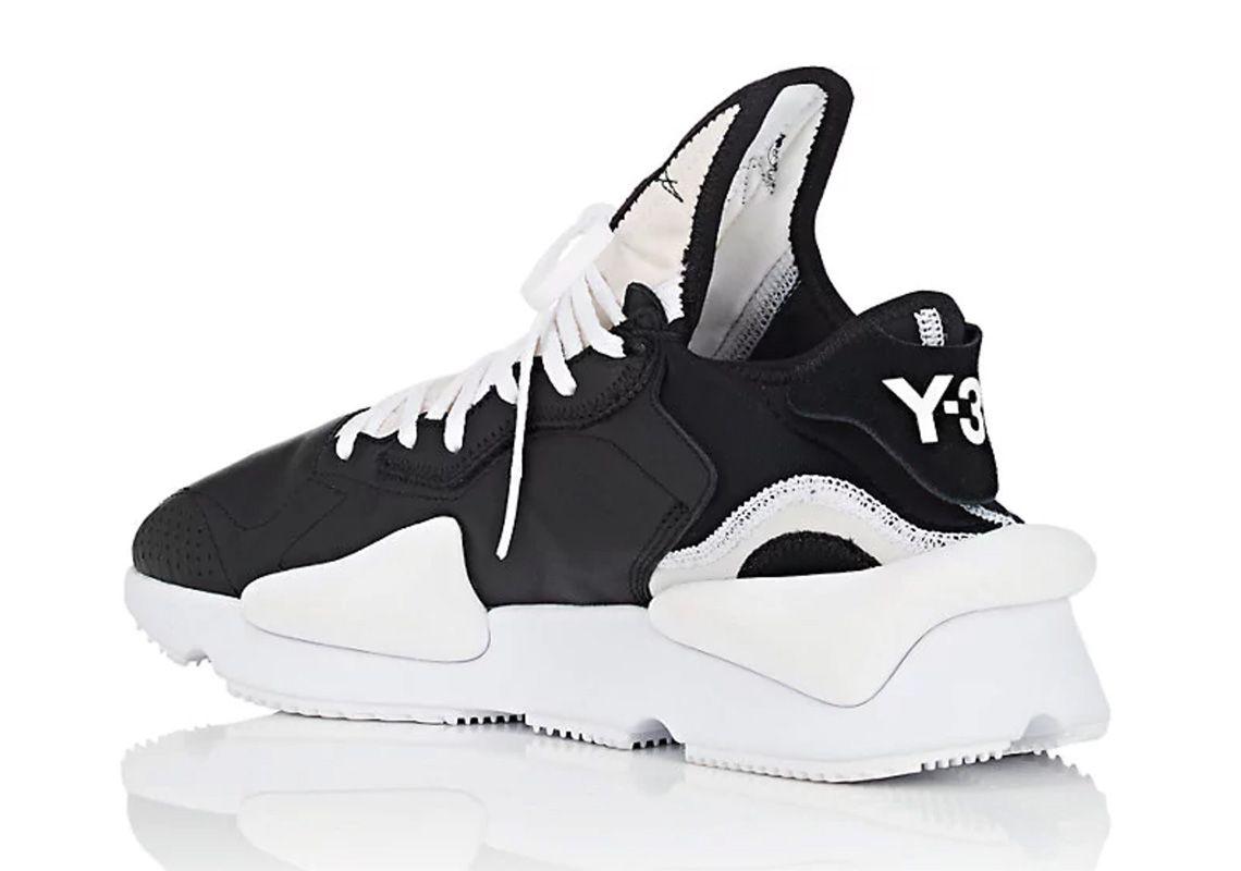 f8406ff02 adidas Y-3 Kaiwa Black White Available Now