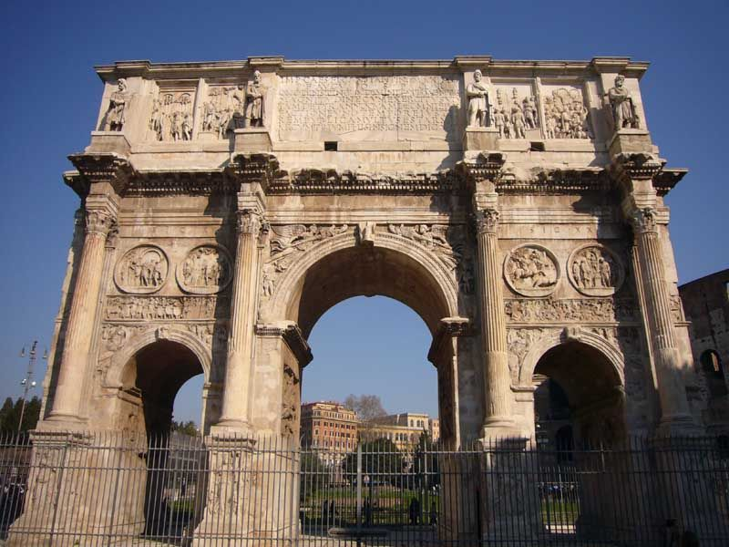 Roman Architecture Historic Rome Buildings Photo Free Download