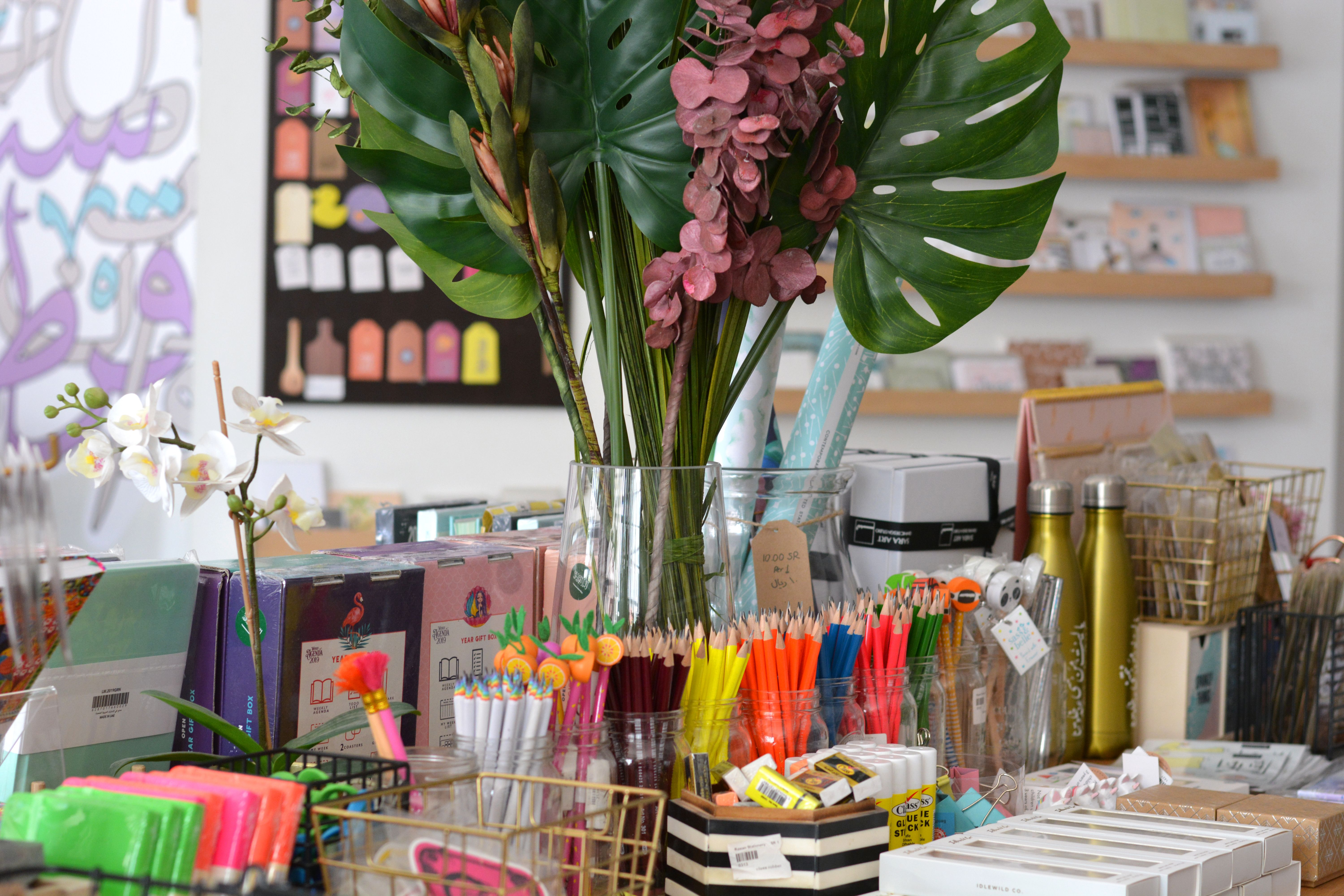 Rawan Stationery Aims To Promote The Arabic Language By Attracting The Products Of Arab Artists And International Gifts Stationery Collection Stationery Store