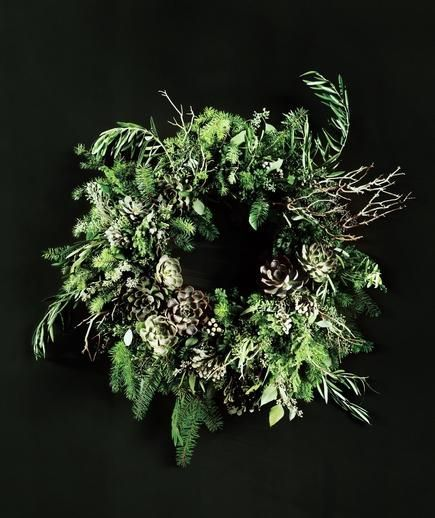 Image result for add DIY to green christmas wreath
