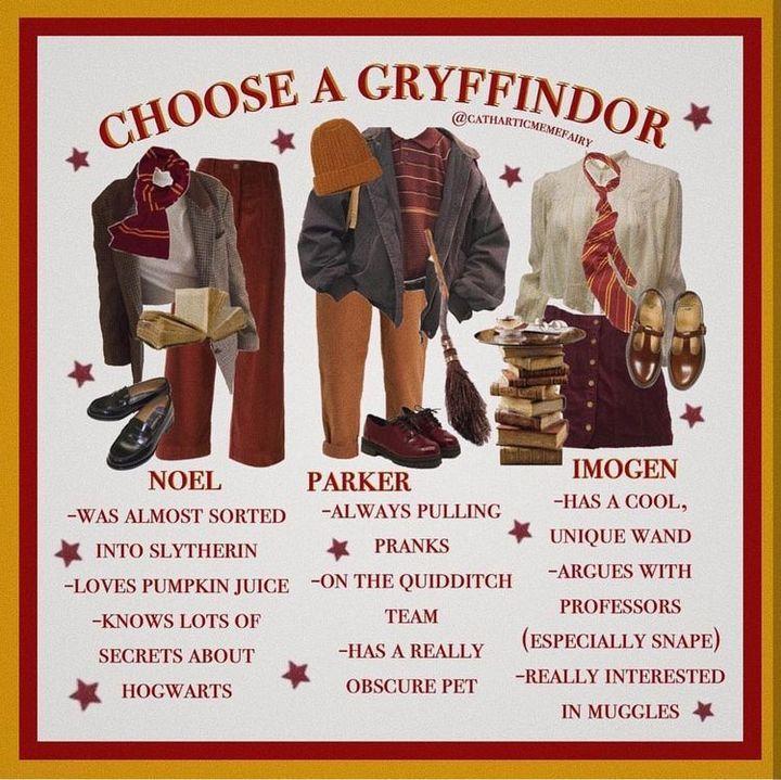 Lustige Harry Potter Bilder In 2021 Harry Potter Outfits Gryffindor Outfit Hogwarts Outfits