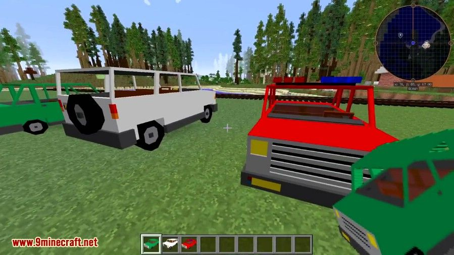personal cars mod 1.11.2
