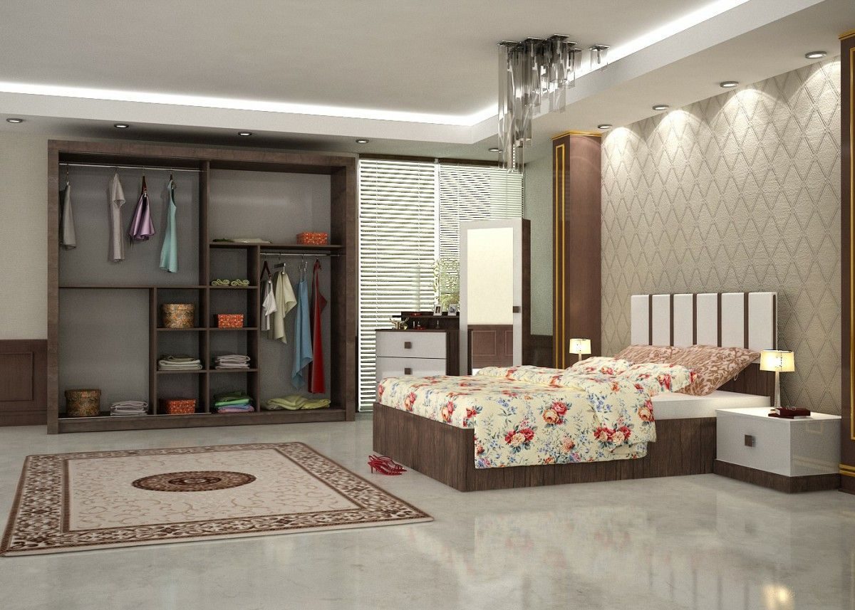 Sila konfort bedroom furniture set walnut 3 turkey - Bedroom furniture made in turkey ...