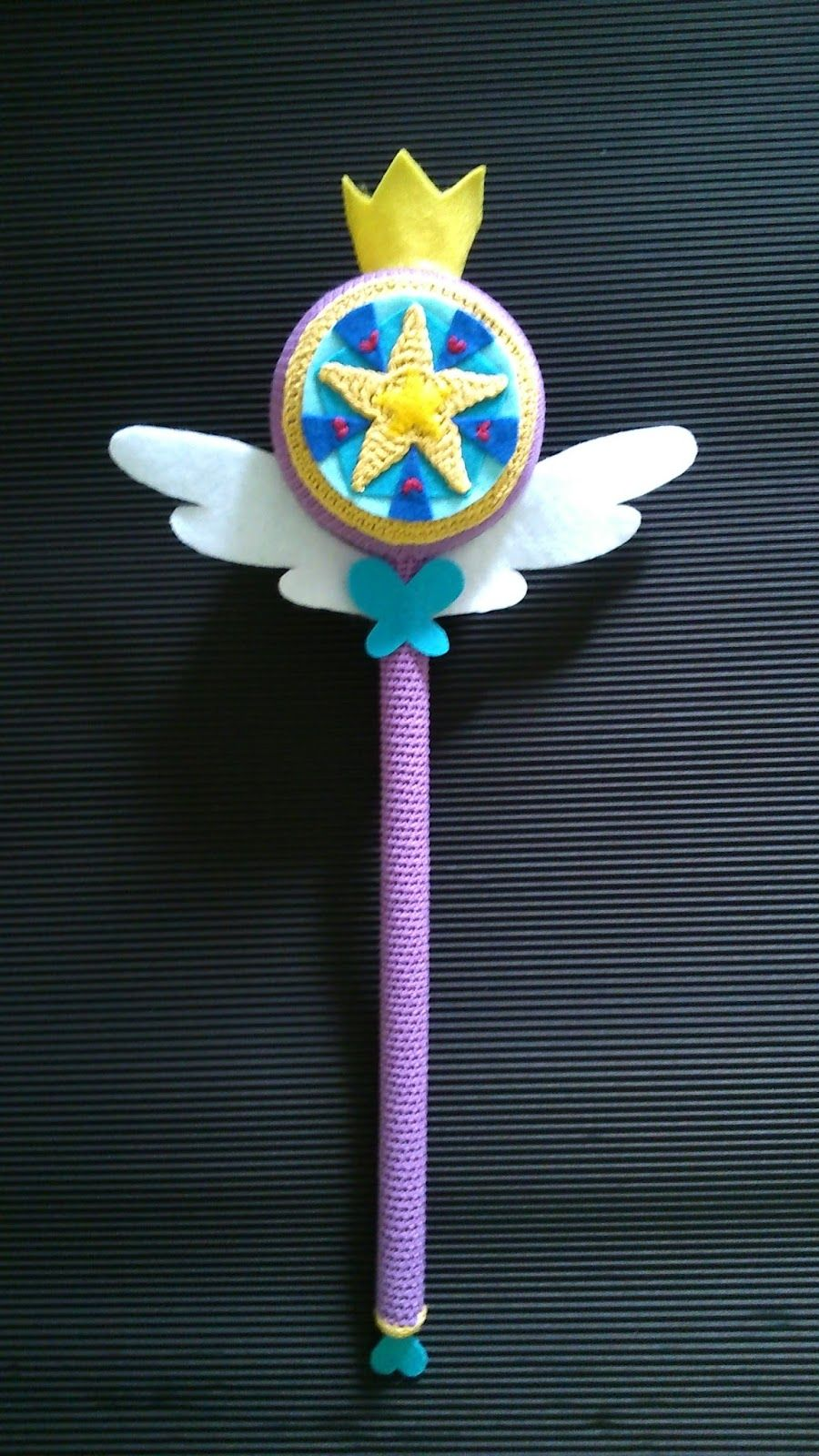 Star Butterfly The Wand Crochet Toy
