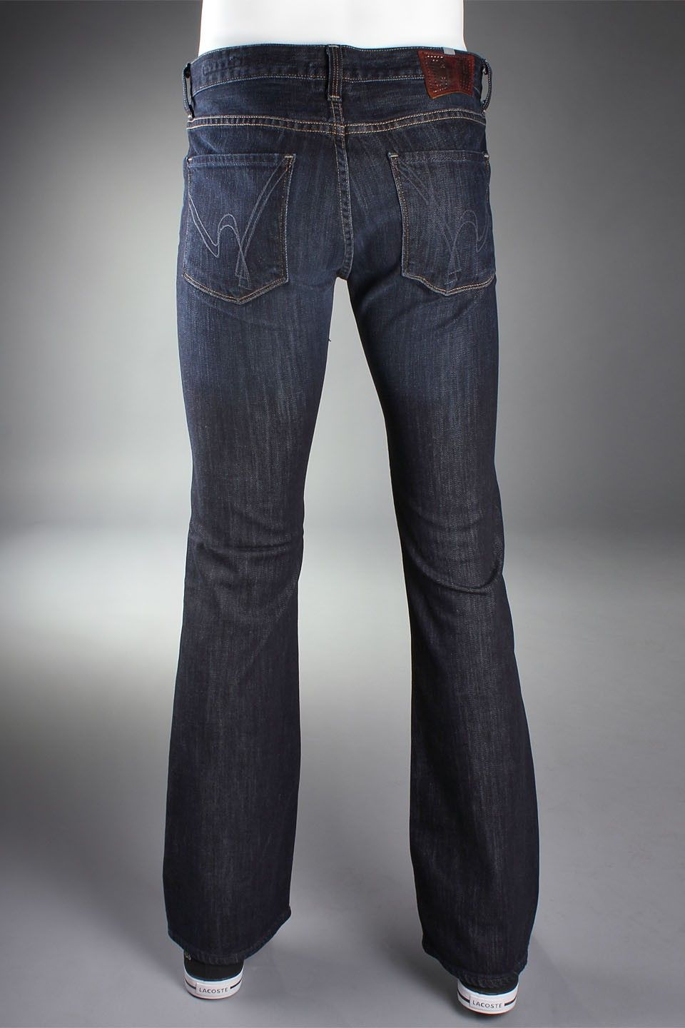 Womens dark blue bootcut jeans
