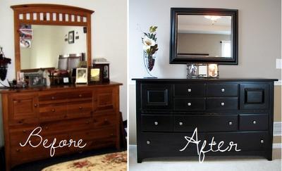Refinishing furniture....