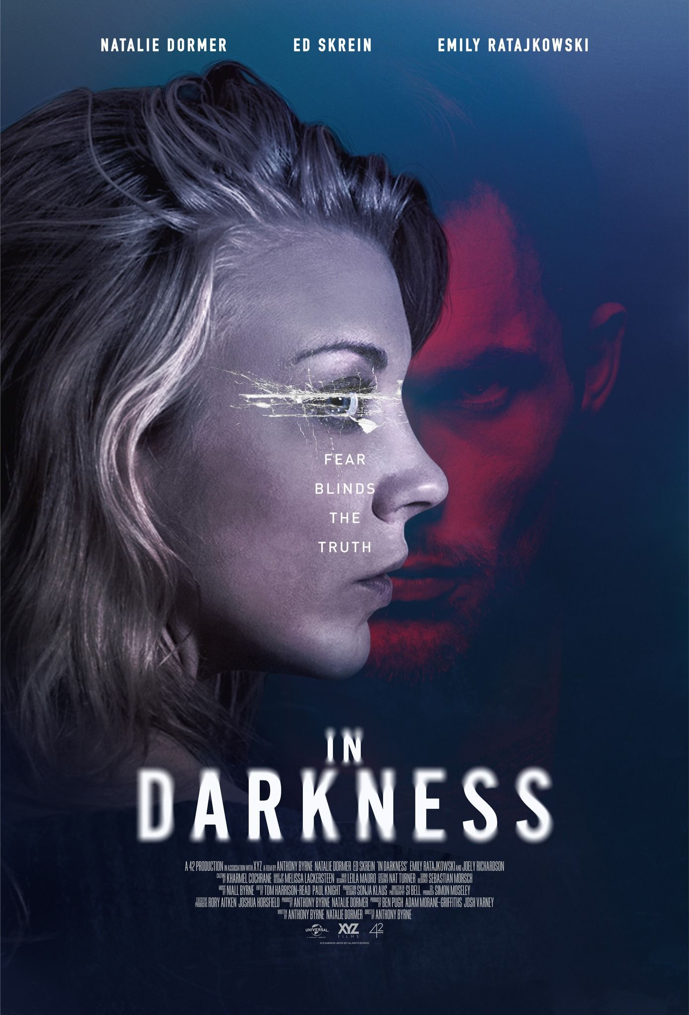 First Poster In Darkness Natalie Dormer Ed Skrein Emily