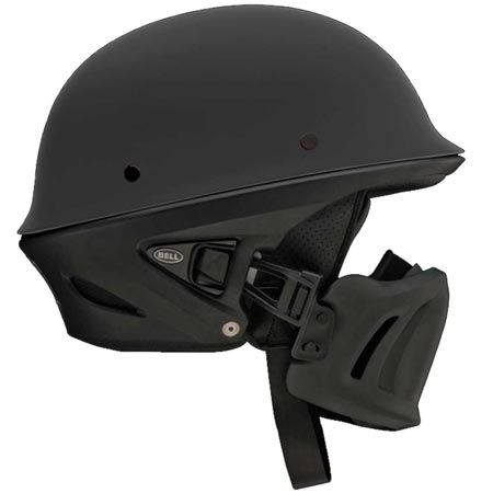 """Follow on It is a totally bad ass looking motorcycle helmet because it has the looks like a """"Storm Trooper"""" in Star Wars and sometime it does look like Dart Vader, well id does has a look of Nazi's German...  Read More >>"""