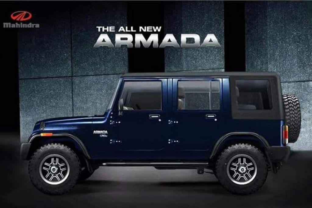Jeep Wrangler Or Mahindra Armada Jeeps Pinterest