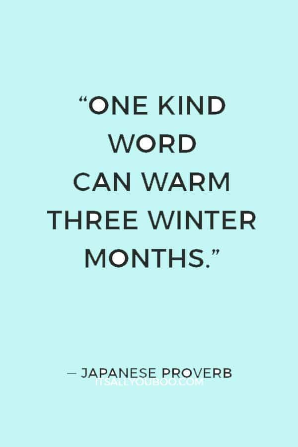 Warm Up This Winter With Kindness