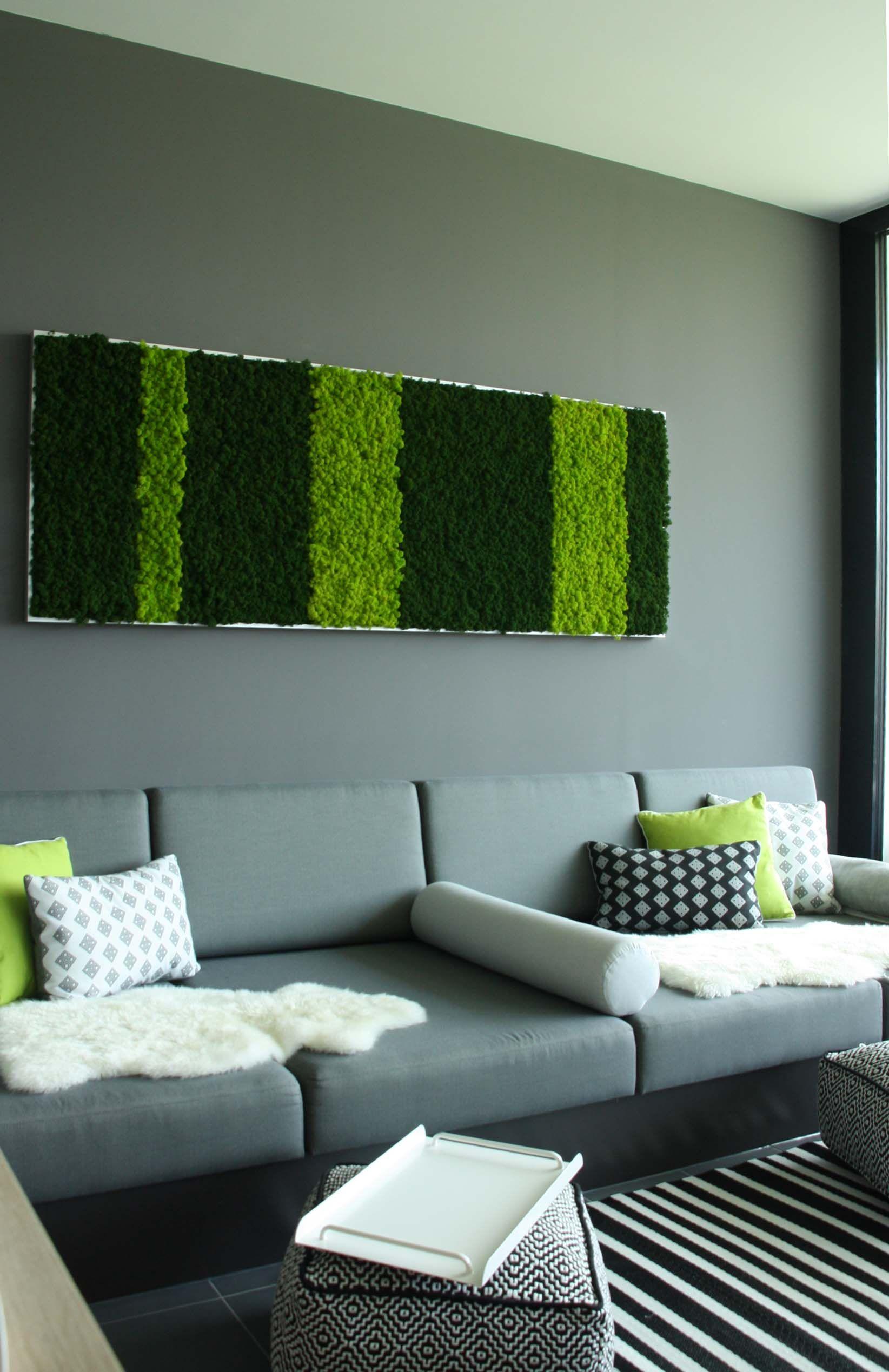 Islandmoos 3d wandpaneele und moosplatten konserviert living urban pinterest w nde moos - Schall reduzieren wohnzimmer ...