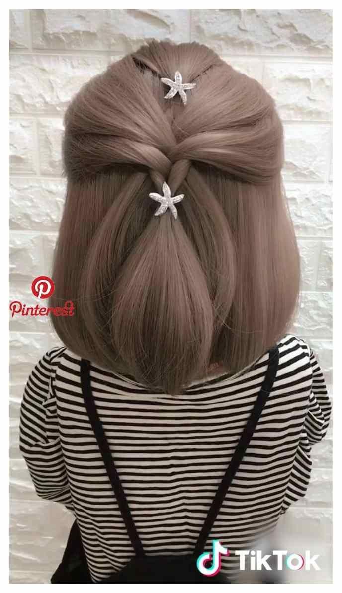 Tik Tok Hairstyle 2019 Everything For Frisuren Sac Ipuclari Yeni Sac Kivircik Sac