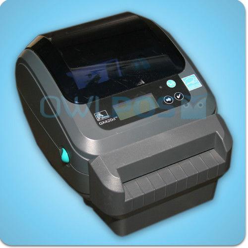 Zebra GX420d Wireless Wifi Thermal Shipping Label Printer