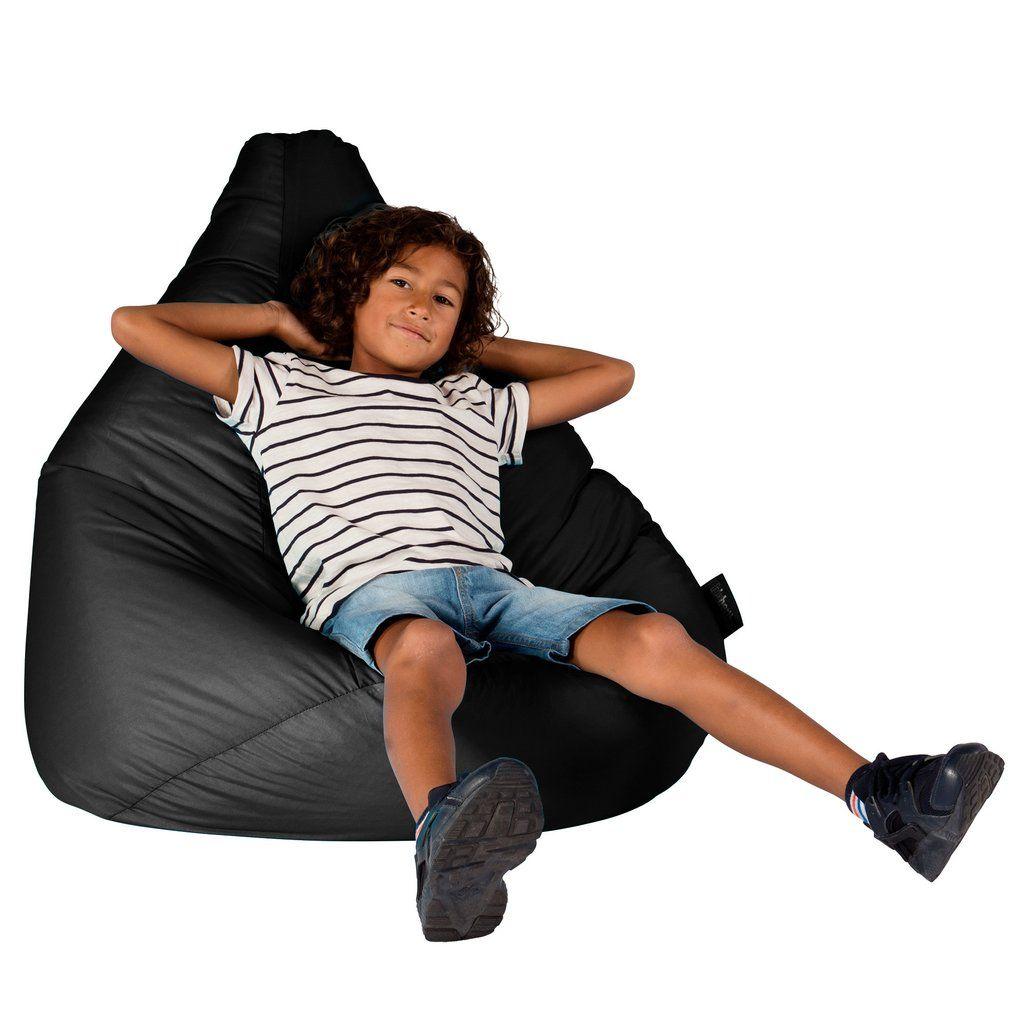 Marvelous Smartcanvas Highback Bean Bag Chair Black In 2019 Squirreltailoven Fun Painted Chair Ideas Images Squirreltailovenorg