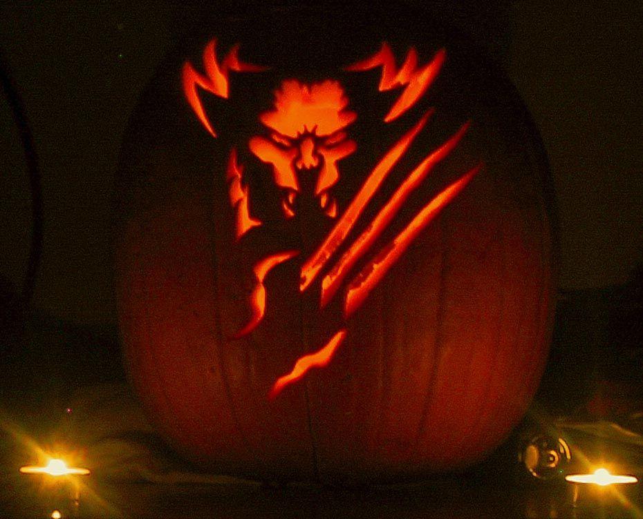 Batman Iron Man 22 More Superhero Carved Halloween Pumpkins