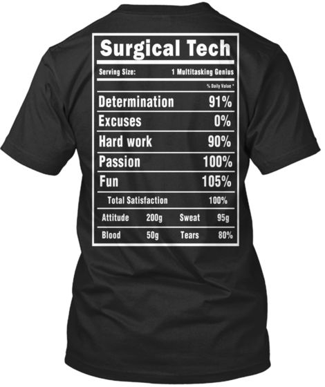 354804f7 Surgical Tech T-Shirts and Hoodies | Gifts for OR | Preschool ...