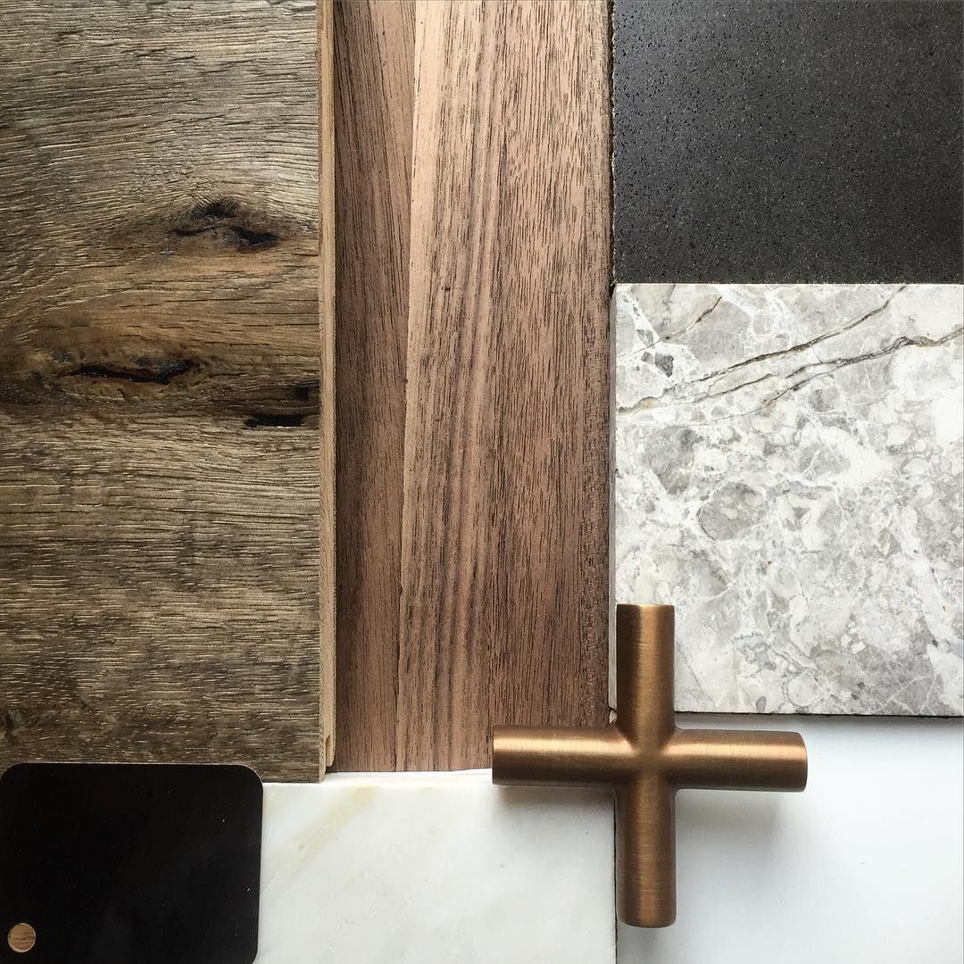 Material Palette For The Interiors On Our Luxury