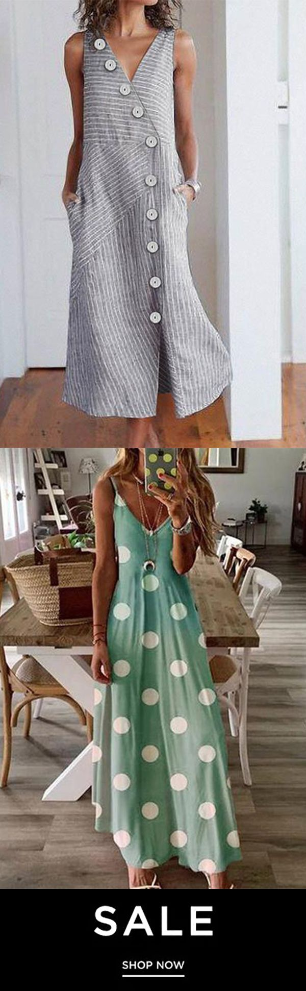 Elegant Maxi Dress 0705