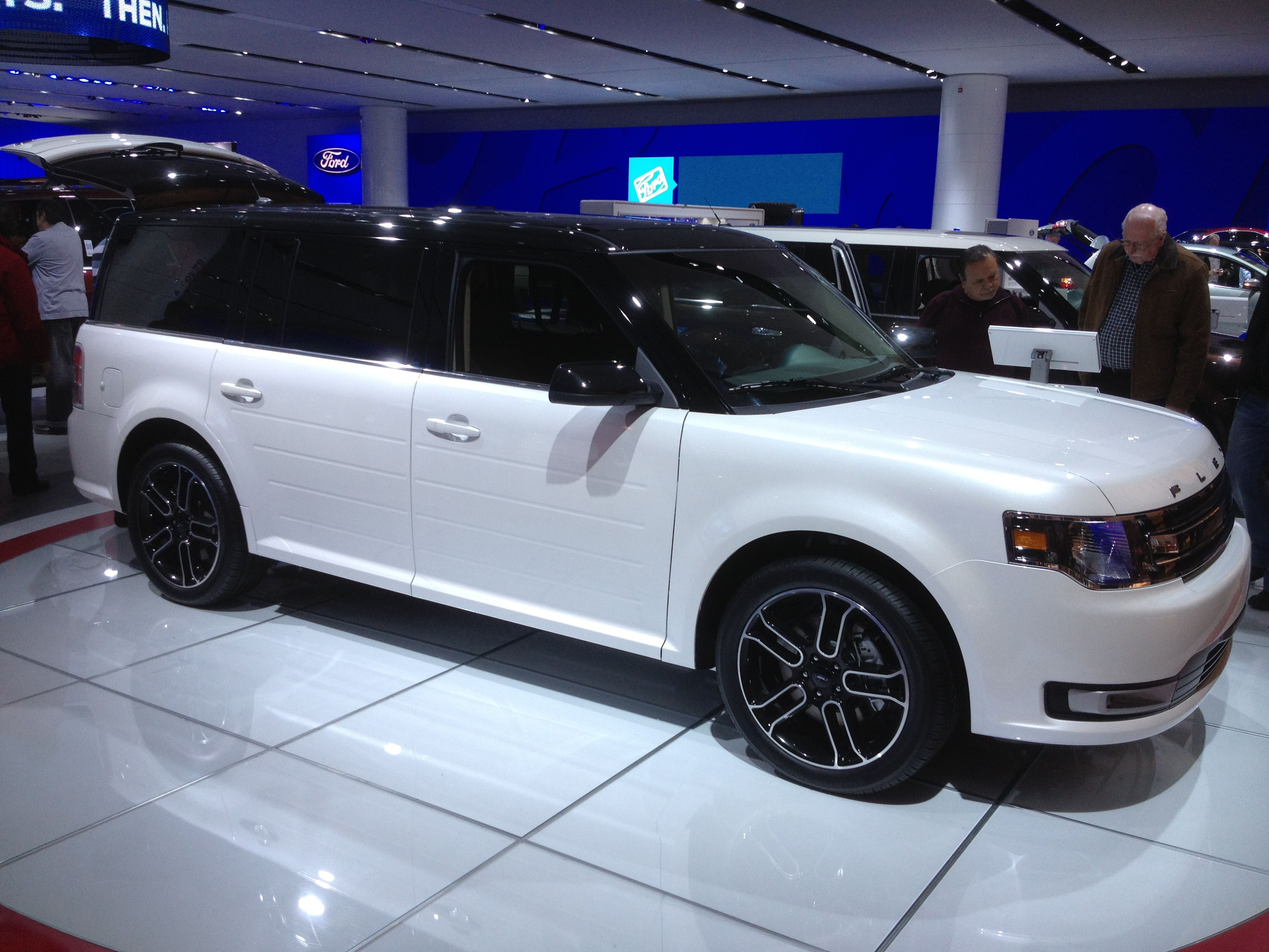 My Favorites At Naias Until My Battery Died Ford Flex Ford