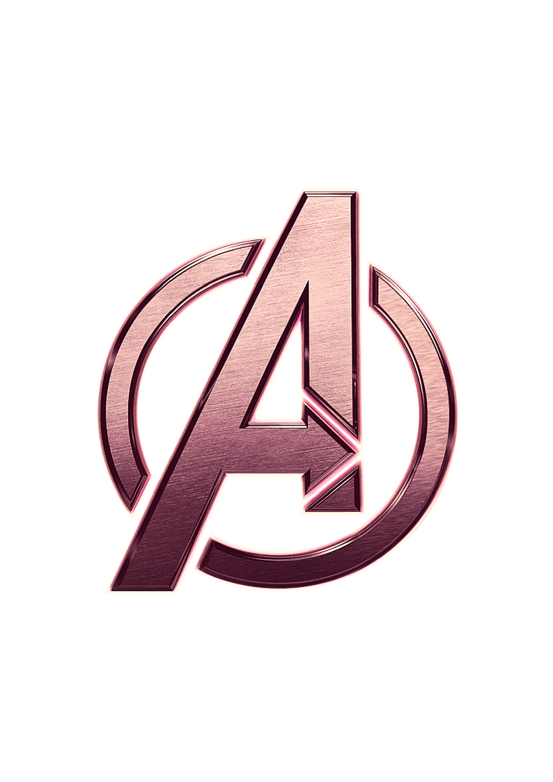 Avengers Logo Pink Avengers Wallpaper Avengers Logo Dark Wallpaper Iphone